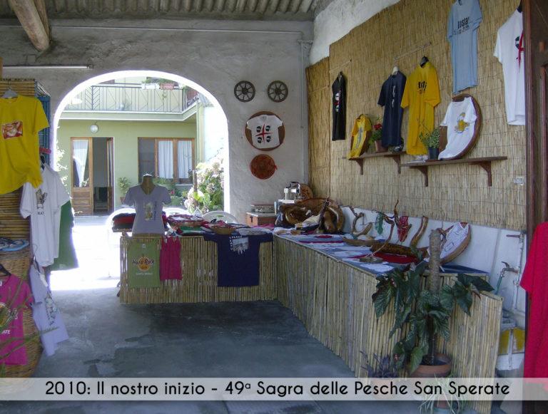 2010: il nostro inizio - 49° Sagra delle Pesche San Sperate