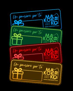 Stampa voucher e gift card a Cagliari